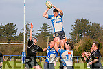 Tralee's Simon Behan  in the Munster Junior League, Division II Tralee v Presentation, in O'Dowd Park on Sunday