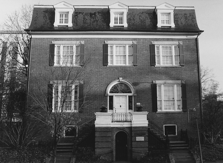 Sewell Belmont House. (Photo by Francis Fuller/CQ Roll Call via Getty Images)
