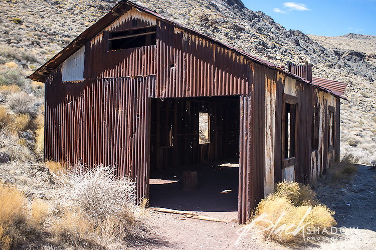 Leadfield, a short lived mining town in Death Valley National Park, USA, March 2012