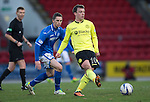 St Johnstone v St Mirren.....11.01.14   SPFL<br /> Paul McGowan in action after his court appearance<br /> Picture by Graeme Hart.<br /> Copyright Perthshire Picture Agency<br /> Tel: 01738 623350  Mobile: 07990 594431