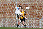 27 November 2009: North Carolina's Casey Nogueira (54) scores her first goal past Wake Forest's Amanda Barasha (13). The University of North Carolina Tar Heels defeated the Wake Forest University Demon Deacons 5-2 at Fetzer Field in Chapel Hill, North Carolina in an NCAA Division I Women's Soccer Tournament Quarterfinal game.