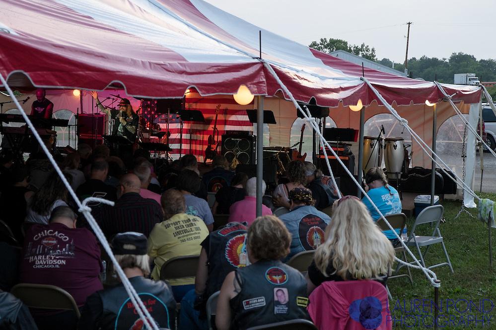 BikerFest worship service.