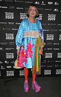 Grayson Perry at the Broadcast Awards 2019, Grosvenor House Hotel, Park Lane, London, England, UK, on Wednesday 06th February 2019.<br /> CAP/CAN<br /> &copy;CAN/Capital Pictures