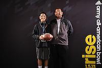 SAN ANTONIO, TX - JANUARY 3, 2013: The 2013 Army All-American Bowl Kickoff Party. (Photo by Jeff Huehn)