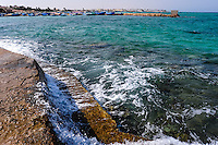 Egypt, Hurghada. Close to beach belonging to Triton Hotel, coastline.
