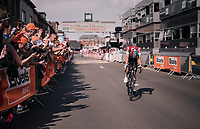 Bob Jungels (LUX/Quick-Step Floors) wins the 104th Li&egrave;ge - Bastogne - Li&egrave;ge 2018 (1.UWT)<br /> <br /> 1 Day Race: Li&egrave;ge - Ans (258km)