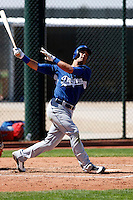 Andrew Lambo - Los Angeles Dodgers - 2009 spring training.Photo by:  Bill Mitchell/Four Seam Images