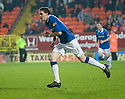 :: RANGERS' KYLE LAFFERTY CELEBRATES AFTER HE SCORES THE THIRD :: .19/04/2011   Copyright  Pic : James Stewart.sct_jsp021_dundee_utd_v_rangers .James Stewart Photography 19 Carronlea Drive, Falkirk. FK2 8DN      Vat Reg No. 607 6932 25.Telephone      : +44 (0)1324 570291 .Mobile              : +44 (0)7721 416997.E-mail  :  jim@jspa.co.uk.If you require further information then contact Jim Stewart on any of the numbers above.........