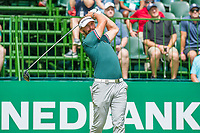 Joost Luiten (NED) on the 1st tee during the first round at the Nedbank Golf Challenge hosted by Gary Player,  Gary Player country Club, Sun City, Rustenburg, South Africa. 14/11/2019 <br /> Picture: Golffile | Tyrone Winfield<br /> <br /> <br /> All photo usage must carry mandatory copyright credit (© Golffile | Tyrone Winfield)