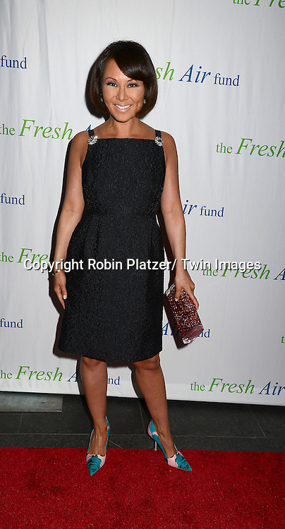 Alina Cho attends The Fresh Air Fund Salute to Mariah Carey on May 29, 2014 at Pier Sixty at Chelsea Piers in New York, New York, USA.