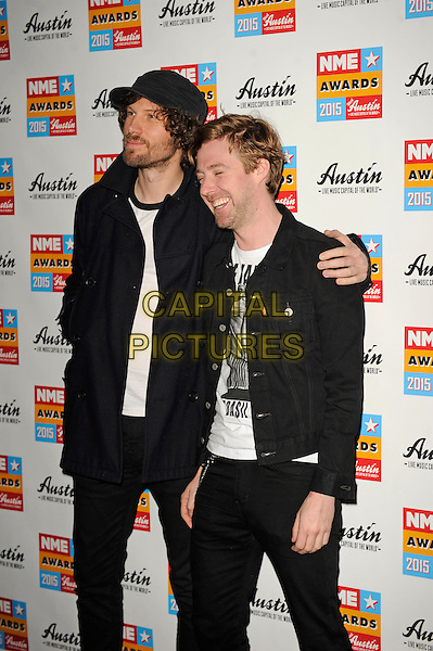 LONDON, ENGLAND - FEBRUARY 18: Kaiser Chiefs attending the NME Awards at Brixton Academy on February 18 2015 in London, England.<br /> CAP/MAR<br /> &copy; Martin Harris/Capital Pictures