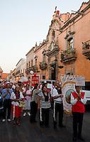 Religous procession, Queretaro, Queretaro, Aromas y Sabores with Chef Patricia Quintana