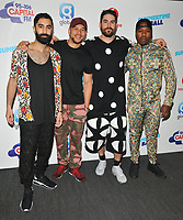 Rudimental (Amir Amor, Kesi Dryden, Piers Agget and Leon &quot;DJ Locksmith&quot; Rolle) at the Capital FM Summertime Ball 2018, Wembley Stadium, Wembley Park, London, England, UK, on Saturday 09 June 2018.<br /> CAP/CAN<br /> &copy;CAN/Capital Pictures