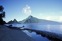 Ofu Beach with Olosega offshore, American Samoa