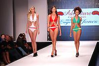 Eugene Jones Swimwear Model, Staci Lyon, at Miami Beach International Fashion Show, Miami Beach Convention Center, Miami, FL - March 3, 2011