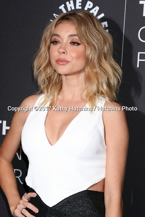 "LOS ANGELES - MAY 18:  Sarah Hyland at the 2017 PaleyLive LA - ""Dirty Dancing: The New ABC Musical Event"" Premiere Screening And Conversation at the Paley Center for Media on May 18, 2017 in Beverly Hills, CA"