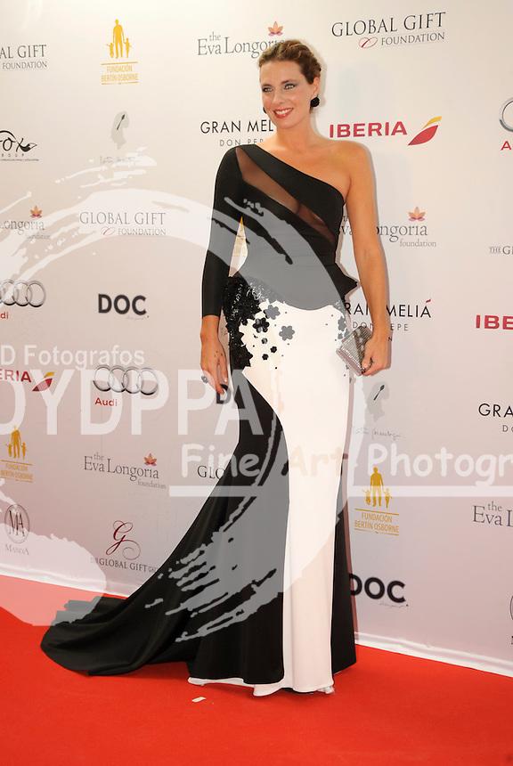 Eva Longoria&acute;s Global Gift Celebrity Dinners Gala to help raise money for The Eva Longoria Foundation at Melia Don Pepe in Marbella. Spain on July 20, 2014.<br /> Alejandra Osborne
