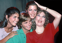 Lori Laughlin, Chris Atkins, Cindy Gibb and Tanya Tucker 1982<br /> Photo By Adam Scull/PHOTOlink.net /MediaPunch