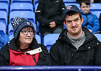 Bolton Wanderers' supporters enjoying the pre-match atmosphere<br /> <br /> Photographer Andrew Kearns/CameraSport<br /> <br /> The EFL Sky Bet Championship - Bolton Wanderers v Millwall - Saturday 9th March 2019 - University of Bolton Stadium - Bolton <br /> <br /> World Copyright © 2019 CameraSport. All rights reserved. 43 Linden Ave. Countesthorpe. Leicester. England. LE8 5PG - Tel: +44 (0) 116 277 4147 - admin@camerasport.com - www.camerasport.com