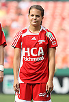 22 June 2008: Richmond's Michelle Schuler. The Washington Freedom defeated the Richmond Kickers Destiny 5-0 at RFK Stadium in Washington, DC in a United Soccer Leagues W-League friendly.