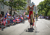 NEW YORK, NY - JUNE 11: Hundreds of people filled the streets of Manhattan to celebrate NYC's 60th annual Puerto Rico Day parade led by mayor Bill de Blasio on June 11, 2017 in New York City. (Photo by Maite H. Mateo/VIEWpress/Corbis via Getty Images)
