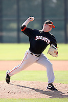 Brian Anderson, San Francisco Giants 2010 minor league spring training..Photo by:  Bill Mitchell/Four Seam Images.