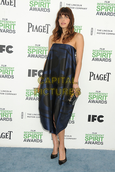 1 March 2014 - Santa Monica, California - Lake Bell. 2014 Film Independent Spirit Awards - Arrivals held at Santa Monica Beach. <br /> CAP/ADM/BP<br /> &copy;Byron Purvis/AdMedia/Capital Pictures