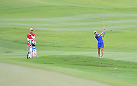 PATTAYA, THAILAND - FEBRUARY 22: Beatriz Recari of Spain on the 18th fairway during the second round of the Honda LPGA Thailand 2019 at Siam Country Club Pattaya (Old Course), Pattaya, Thailand on February 22, 2019.<br /> .<br /> .<br /> .<br /> (Photo by: Naratip Golf Srisupab/SEALs Sports Images)<br /> .<br /> Any image use must include a mandatory credit line adjacent to the content which should read: Naratip Golf Srisupab/SEALs Sports Images