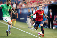 Brandon (forward; CA Osasuna) during the Spanish <br /> la League soccer match between CA Osasuna and Almeria at Sadar stadium, in Pamplona, Spain, on Saturday, <br /> September 8, 2018.