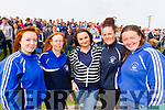 St Brendans fans pictured at the County Senior Hurling final on Sunday last were l-r: Katie and Brenda O'Riordan Annemarie Dowling, Sinead MacKessy and Aoife Fitzgerald.