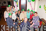 Enjoying her 50th birthday was Margaret Cronin(centre) from Duagh, pictured here on St Patrick's night celebrating with family and friends in  DP Lyons Bar, Abbeyfeale.