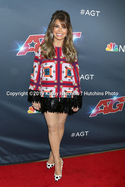 """LOS ANGELES - SEP 18:  Paula Abdul at the """"America's Got Talent"""" Season 14 Finale Red Carpet at the Dolby Theater on September 18, 2019 in Los Angeles, CA"""