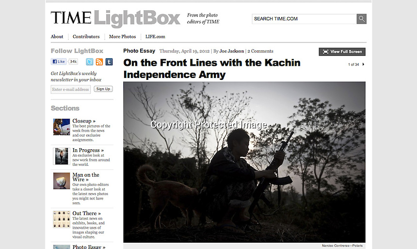Photo Essay online: http://lightbox.time.com/2012/04/19/kia/#1