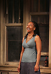 Crystal A. Dickinson.during the Broadway Opening Night Performance Curtain Call for 'Clybourne Park' at the Walter Kerr Theatre in New York City on 4/19/2012