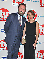 Lee Mack and Sally Bretton at the TV Choice Awards 2018, The Dorchester Hotel, Park Lane, London, England, UK, on Monday 10 September 2018.<br /> CAP/CAN<br /> &copy;CAN/Capital Pictures
