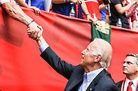 VANCOUVER, CANADÁ, 05.07.2015 - EUA-JAPÃO - O vice presidente dos Estados Unidos Joe Binden é visto após a final da Copa do Mundo de Futebol Feminino no Estádio BC Place em Vancouver no Canadá neste domingo, 05. (Foto: William Volcov/Brazil Photo Press/Folhapress)