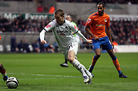Pictured: Mark Gower of Swansea City in action <br /> Re: Coca Cola Championship, Swansea City FC v Reading at the Liberty Stadium. Swansea, south Wales, Saturday 17 January 2009<br /> Picture by D Legakis Photography / Athena Picture Agency, Swansea 07815441513