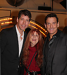 Guiding Light's Sean McDermott with James Barbour, the star of The Phantom of the Opera as The Phantom poses with Jane Elissa at The 29th Annual Jane Elissa Extravaganza which benefits The Jane Elissa Charitable Fund for Leukemia & Lymphoma Cancer, Broadway Cares and other charities on November 14, 2016 at the New York Marriott Hotel, New York City presented by Bridgehampton National Bank and Walgreens.  The event is a Cabaret with singer Sean McDermott (Guiding Light) (Photo by Sue Coflin/Max Photos)