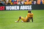 05.01.2019, FNB Stadion/Soccer City, Nasrec, Johannesburg, RSA, Premier League, Kaizer Chiefs vs Mamelodi Sundowns<br /> <br /> im Bild / picture shows <br /> <br /> Siphosakhe Ntiya-Ntiya<br /> enttäuscht / enttaeuscht / traurig / Niederlage<br /> <br /> <br /> Foto © nordphoto / Kokenge