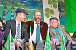 The Healy Rae's on stage at the Killarney St Patricks parade on Thursday