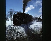 The C&amp;TS rotary #OY and her train moving east of Chama.<br /> C&amp;TS  e. of Chama, NM