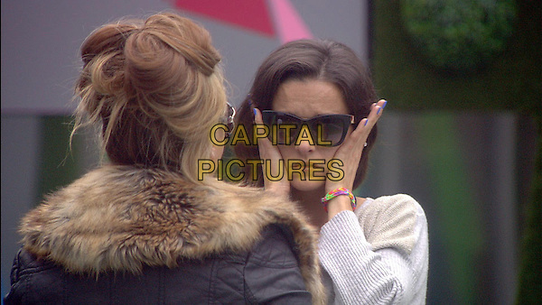 Lauren Goodger, Edele Lynch <br /> in Celebrity Big Brother - Summer 2014 (Day 15)<br /> *Editorial Use Only*<br /> CAP/NFS<br /> Image supplied by Capital Pictures