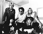 Heart 1982 Ann Wilson, Mark Andes, Danny Carmassi, Nancy Wilson and Howard Leese<br /> &copy; Chris Walter
