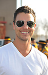 PACOIMA, CA. - October 10: Colin Egglesfield arrives at The 2009 American Dream Walk To Benefit Habitat For Humanity at Lowe's Home Improvement on October 10, 2009 in Pacoima, California.