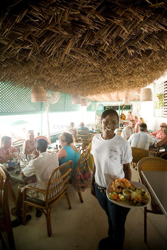 Jazz at the Tank.Lobster Alive Restaurant.Bridgetown, St. Michael Parish.Barbados