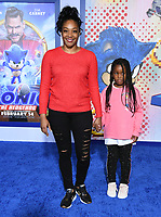 "12 February 2020 - Los Angeles, California - Tiffany Haddish. ""Sonic the Hedgehog"" Los Angeles Premiere held at the Regency Village Theater. Photo Credit: Birdie Thompson/AdMedia"