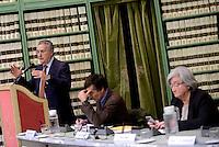 Roma, 2 Marzo 2016<br />  Rosy Bindi (presidente della Commissione parlamentare di inchiesta sul fenomeno delle mafie), Franco Roberti (procuratore nazionale antimafia e antiterrorismo).<br /> &quot;Relazione annuale sulle attivita' svolte dal Procuratore Nazionale Antimafia e dalla Direzione Nazionale Antimafia e Antiterrorismo&quot;&quot;