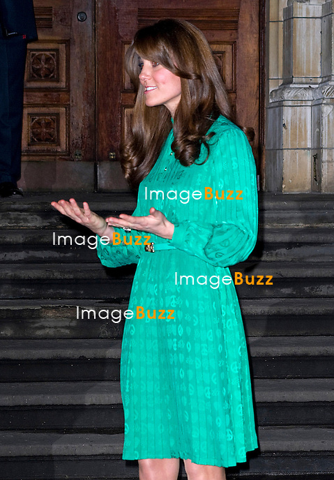 KATE, DUCHESS OF CAMBRIDGE.officially opens the new Treasures Gallery at the Natural History Museum (NHM),London_27th November 2012