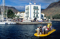 Spanien, Kanarische Inseln, Gran Canaria, Puerto de Mogan Ausflug mit dem Yellow Submarine | Spain, Canary Islands, Gran Canaria, Puerto de Mogan: excursion with Yellow Submarine