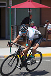 Jordan McElroy competes in the Elite 3/4 division of the Tour De Nez Bike Race in downtown Reno on Saturday, June 11, 2016.